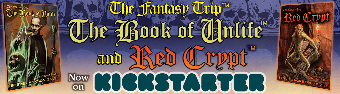 Banner link to Book of Unlife / Red Crypt Kickstarter
